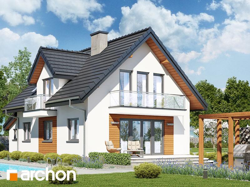 Проект дома ARCHON+ Дом в солодках (Г) ver.2 - Визуализация 2