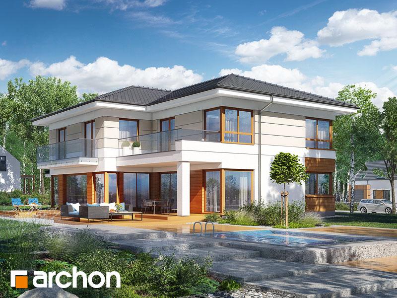 Проект дома ARCHON+ Вилла Вероника 4 - Визуализация 1