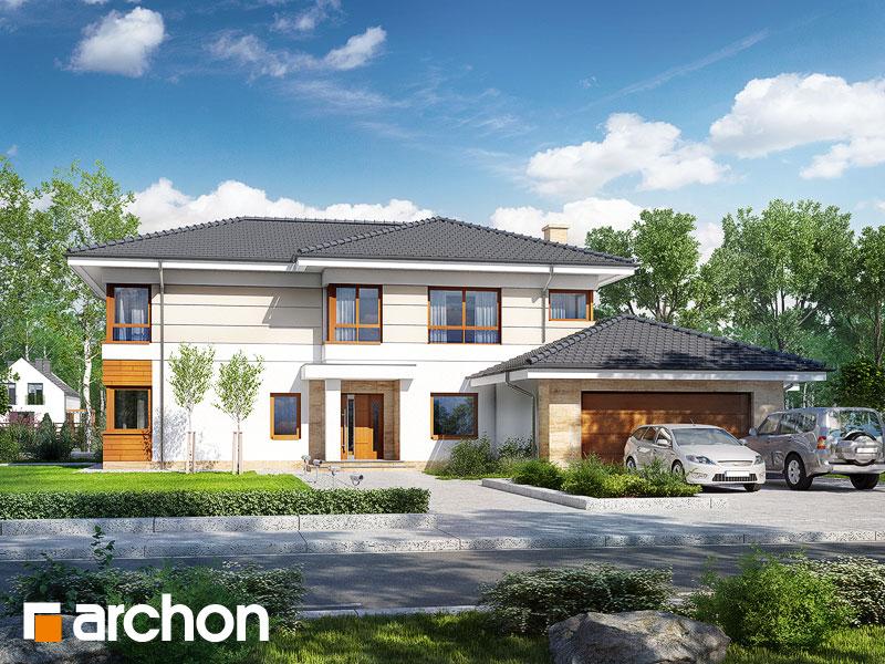 Проект дома ARCHON+ Вилла Вероника 4 - Визуализация 2
