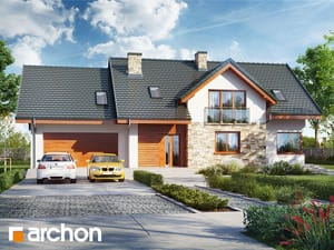 Проект дома ARCHON+ Дом в каннах 4 (Г2)