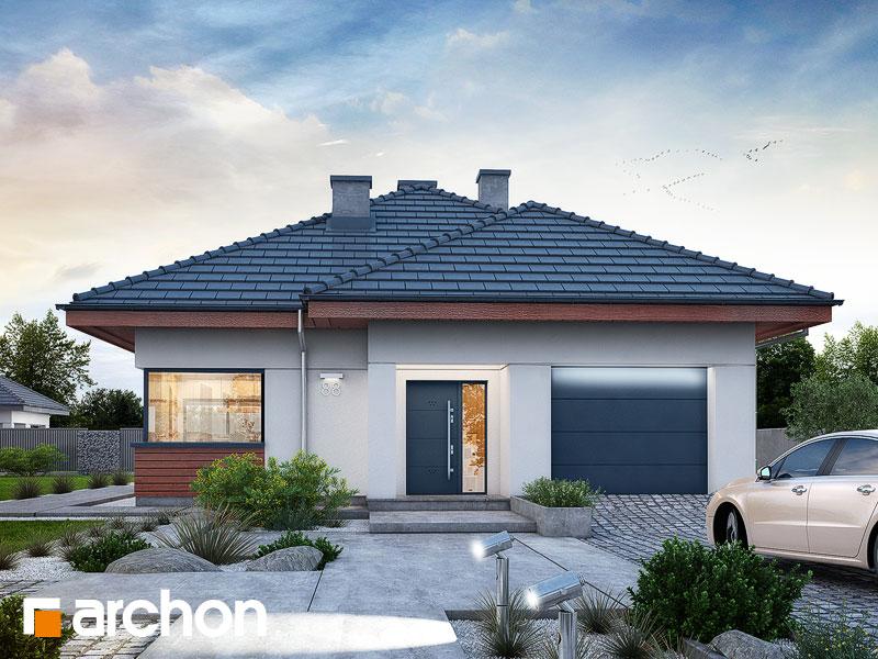 Проект дома ARCHON+ Дом в ренклодах 3 - Визуализация 1