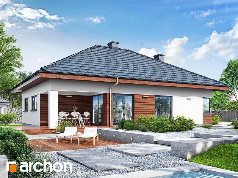 Проект дома ARCHON+ Дом в ренклодах 3 - Визуализация 2