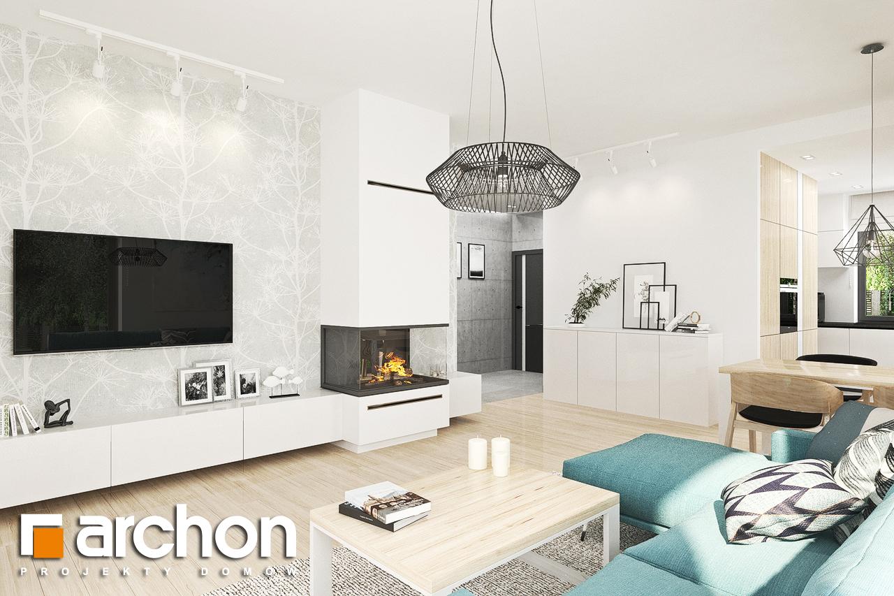 Проект дома ARCHON+ Дом в ренклодах 3 - Интерьеры