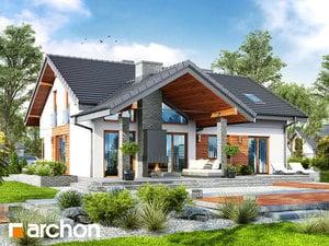 Проект дома ARCHON+ Дом в первоцветах (Г2)