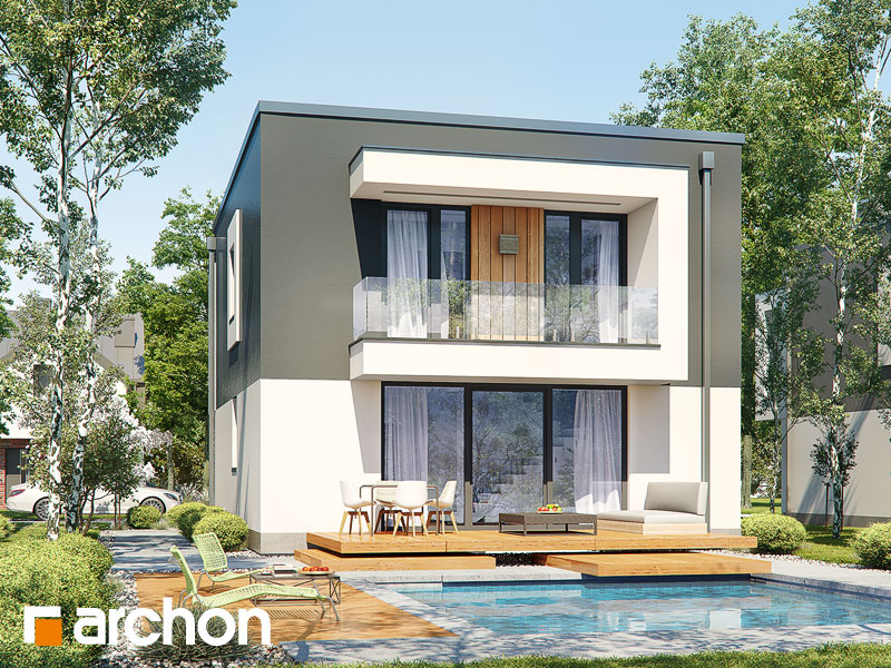 Проект дома ARCHON+ Дом в клематисах 24 - Визуализация 2