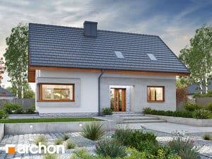 Проект дома ARCHON+ Дом в изопируме 2