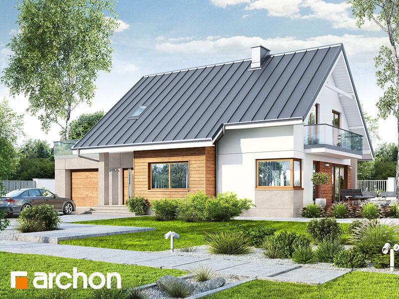 Проект дома ARCHON+ Дом в аурорах 4 - Визуализация 1