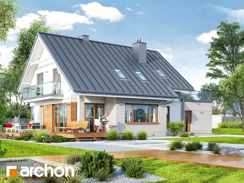 Проект дома ARCHON+ Дом в аурорах 4 - Визуализация 2