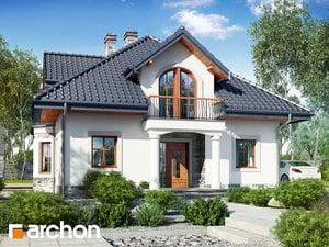 Проект дома ARCHON+ Дом в тимьяне 10 (П)