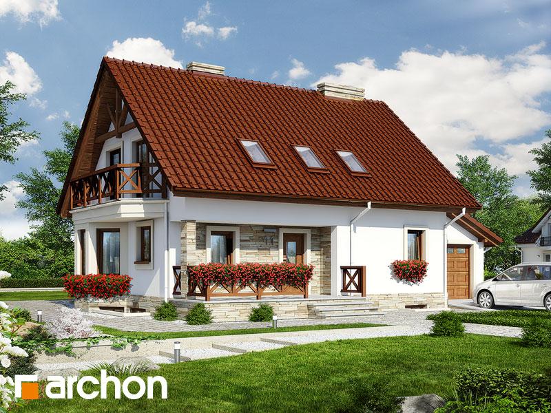 Дом в деванне 2 (П) - Визуализация 1