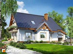 Проект дома ARCHON+ Дом в горошке 2