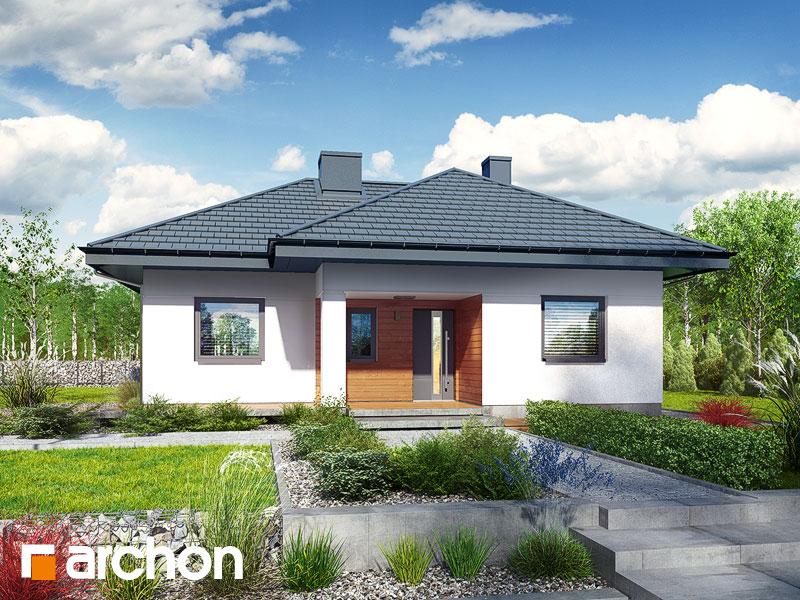 Проект дома ARCHON+ Дом в коштелях - Визуализация 2
