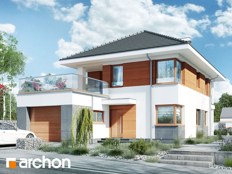 Проект дома ARCHON+ Вилла Эльвира - Визуализация 1