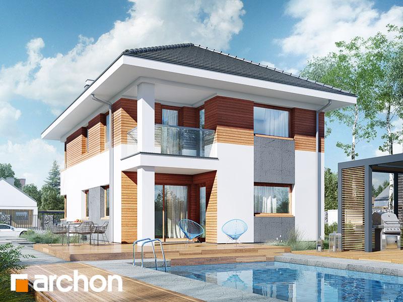 Проект дома ARCHON+ Вилла Эльвира - Визуализация 2