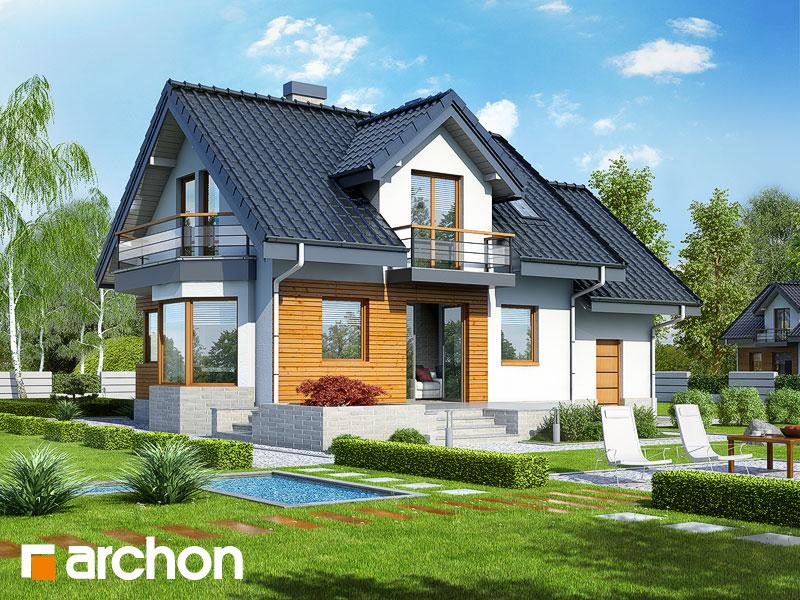 Дом в перловнике (Н) - Визуализация 2
