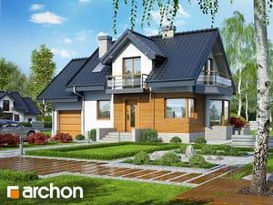 Проект дома ARCHON+ Дом в перловнике (Н) TERMO