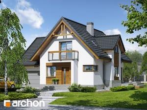 Проект дома ARCHON+ Дом в абрикосах (H) ver.2