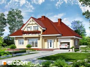 Проект дома ARCHON+ Дом в зорях