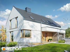 Проект дома ARCHON+ Дом в журавках 8