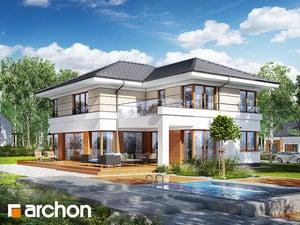 Проект дома ARCHON+ Вилла Вероника 3 (П)