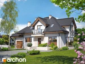 Проект дома ARCHON+ Дом в вербене (Н) ver.2