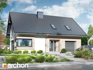 Проект дома ARCHON+ Дом в изопируме 3