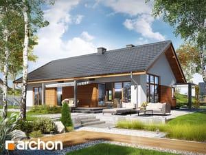 Проект дома ARCHON+ Дом в мекинтошах (ВП)