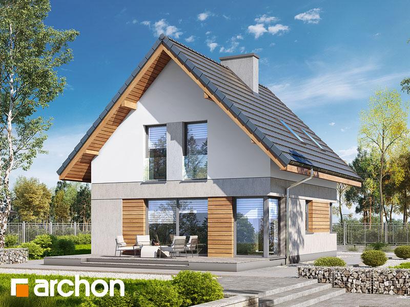 Проект дома ARCHON+ Дом на пригорке (Н) - Визуализация 2