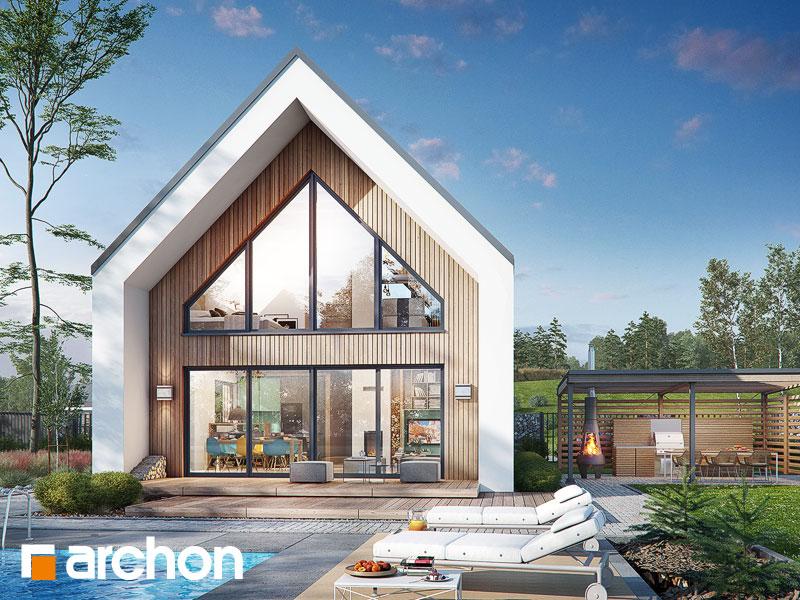 Проект дома ARCHON+ Дом в папаверах - Визуализация 1