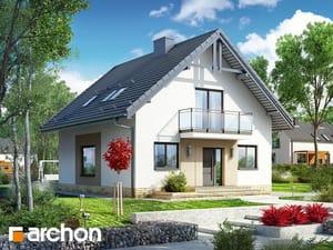 Проект дома ARCHON+ Дом в рододендронах 21 (H)