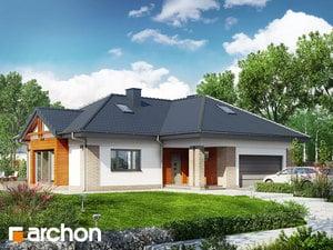 Проект дома ARCHON+ Дом в бергениях 3
