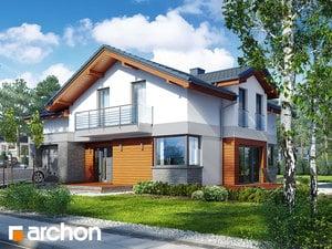 Проект дома ARCHON+ Дом в буддлеях 3