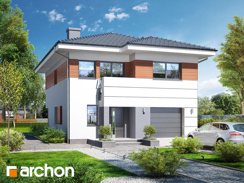 Проект дома ARCHON+  Вилла Юлия 7 - Визуализация 1
