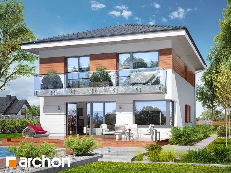 Проект дома ARCHON+  Вилла Юлия 7 - Визуализация 2