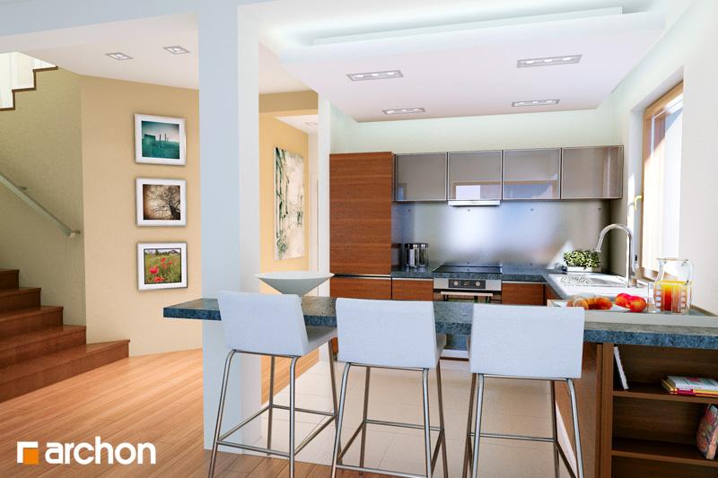 Проект дома ARCHON+  Вилла Юлия 7 - Интерьеры