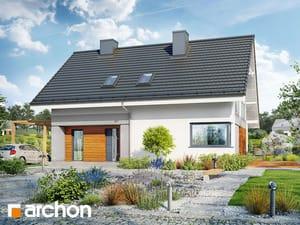 Проект дома ARCHON+ Дом в малиновках 4