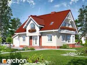 Проект дома ARCHON+ Дом в мирабелле (Г)