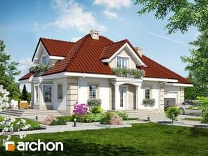 Проект дома ARCHON+ Дом в нектаринах 2 TERMO
