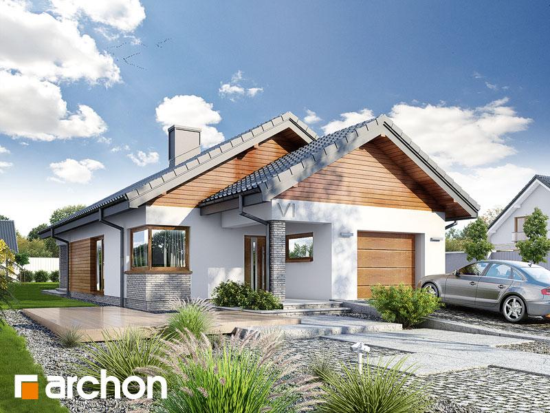 Проект дома ARCHON+ Дом в лиредах  - Визуализация 1