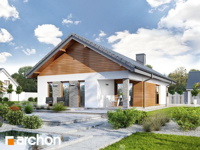 Проект дома ARCHON+ Дом в лиредах  - Визуализация 2