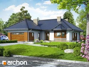 Проект дома ARCHON+ Дом в гардениях