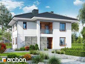 Проект дома ARCHON+ Вилла Луиза (Р2)