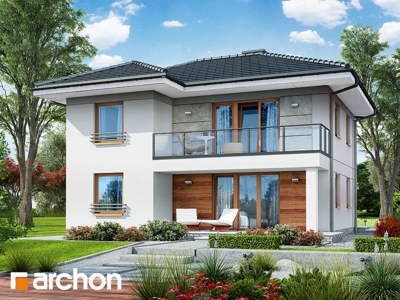 Проект дома ARCHON+ Вилла Луиза (Р2) - Визуализация 2