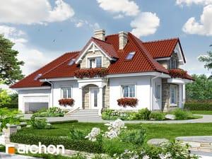 Проект дома ARCHON+ Дом в каллах (Г2)