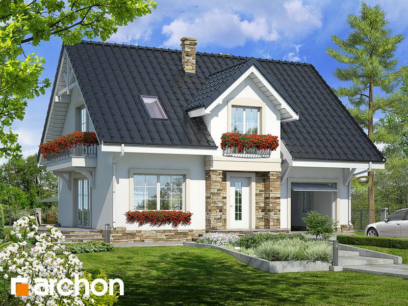 Проект дома ARCHON+ Дом в люцерне 2 - Визуализация 1