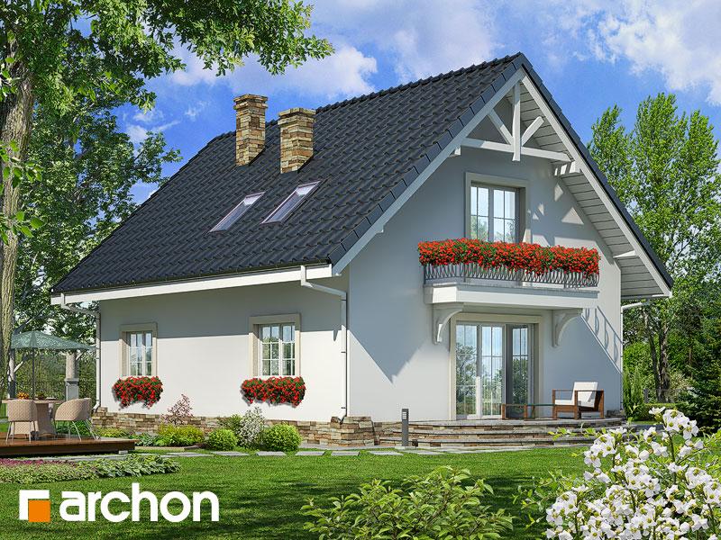 Проект дома ARCHON+ Дом в люцерне 2 - Визуализация 2