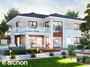Проект дома ARCHON+ Вилла Оливия 3 (Г2)