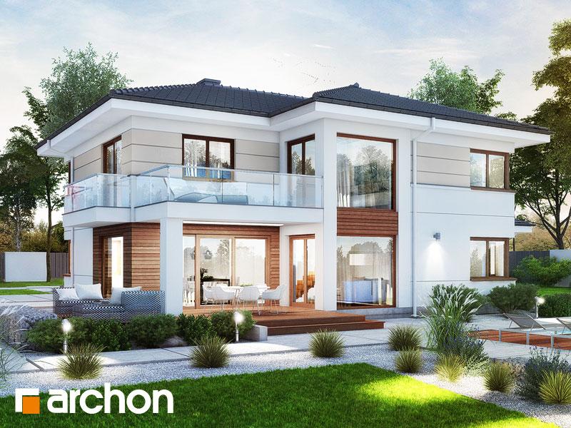 Проект дома ARCHON+ Вилла Оливия 3 (Г2) - Визуализация 1