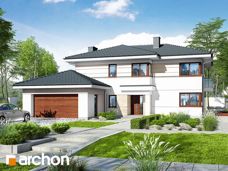 Проект дома ARCHON+ Вилла Оливия 3 (Г2) - Визуализация 2