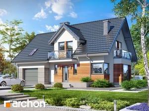 Проект дома ARCHON+ Дом в тамарисках 4 (ПН)